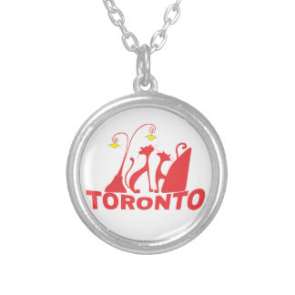 Toronto 1 silver plated necklace