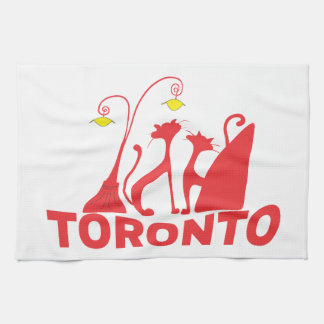 Toronto 1 tea towel