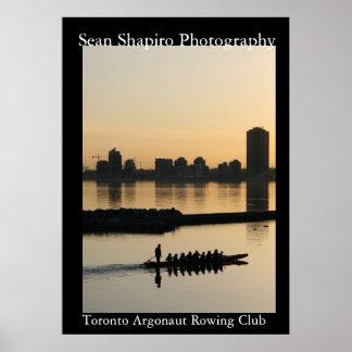 Toronto Argonaut Rowing Club Poster