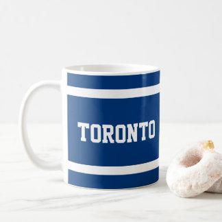 Toronto Blue and White Mug
