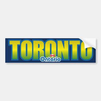 Toronto Bumper Bumper Sticker