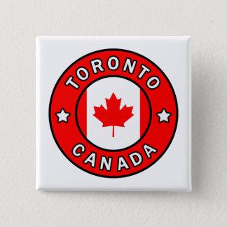 Toronto Canada 15 Cm Square Badge