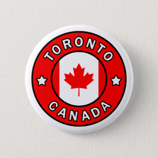 Toronto Canada 6 Cm Round Badge