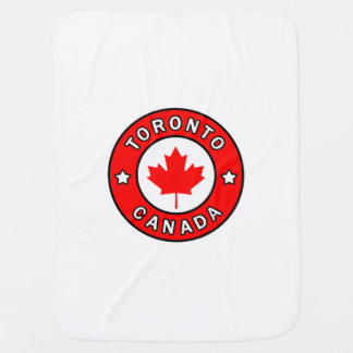 Toronto Canada Baby Blanket