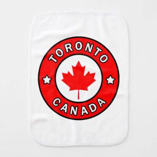 Toronto Canada Burp Cloth