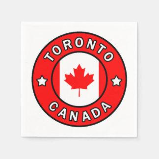 Toronto Canada Disposable Napkins