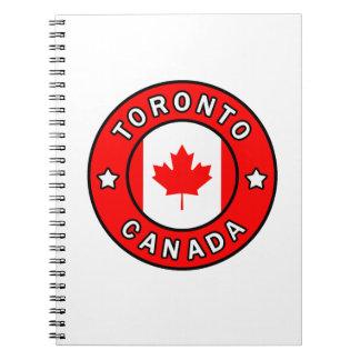 Toronto Canada Notebook