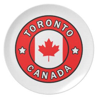 Toronto Canada Plate