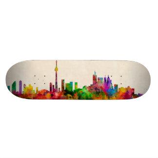 Toronto Canada Skyline Skate Board