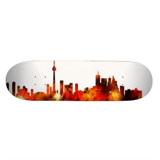 Toronto Canada Skyline Skateboard Deck