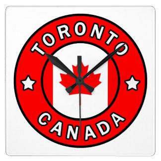 Toronto Canada Square Wall Clock
