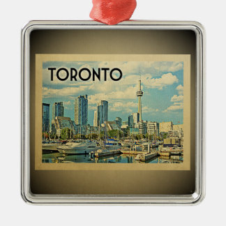 Toronto Canada Vintage Travel Ornament