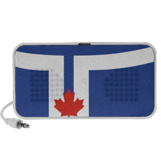 toronto city flag canada country speaker system