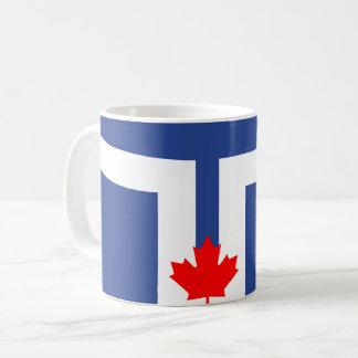 Toronto city flag canada symbol coffee mug