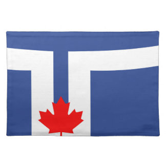 Toronto city flag canada symbol placemat
