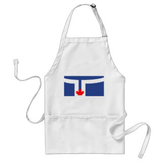 Toronto city flag canada symbol standard apron