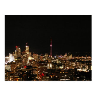 Toronto City Lights Postcard
