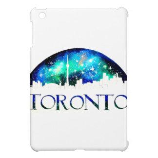 Toronto city skyline at night iPad mini cover
