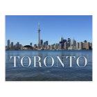 toronto cityscape postcard