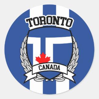 Toronto Classic Round Sticker
