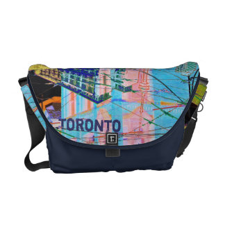 toronto downtown collage bag courier bags