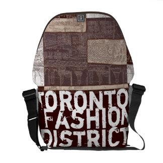 Toronto fashion district urban bag messenger bag