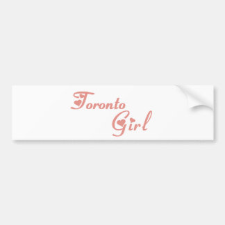 Toronto Girl Bumper Sticker