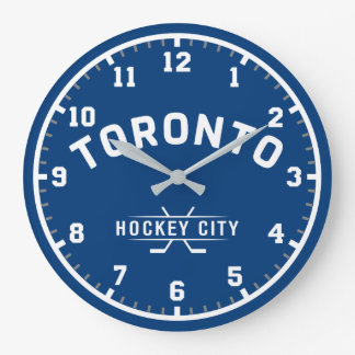 Toronto Hockey City Large Wall Clock