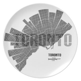 Toronto_Map Plate