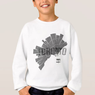 Toronto_Map Sweatshirt
