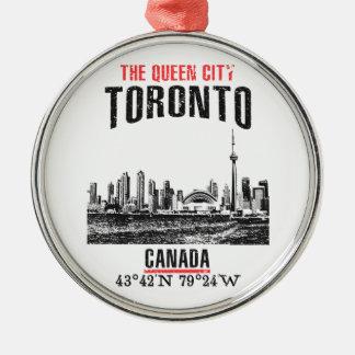 Toronto Metal Ornament