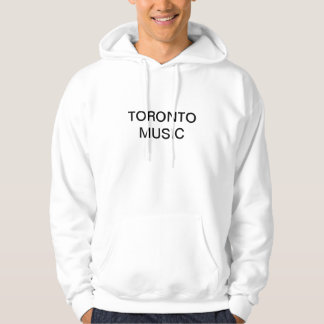 TORONTO MUSIC HOODED PULLOVERS