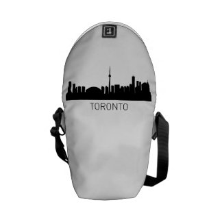 Toronto Ontario Cityscape Courier Bags