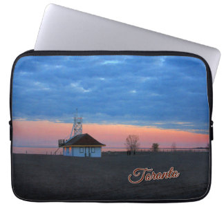 Toronto Ontario Images – The Toronto Beaches Laptop Sleeve