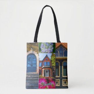 Toronto Ontario Images – Victorian Archiecture Tote Bag