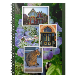 Toronto Ontario Images – Victorian Architecture Spiral Notebook