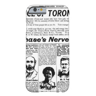 Toronto people vintage newspaper barely there iPhone 6 case