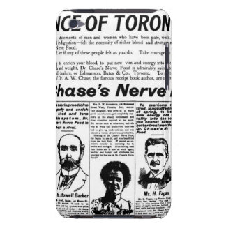 Toronto people vintage newspaper barely there iPod cover
