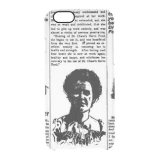 Toronto people vintage newspaper clear iPhone 6/6S case