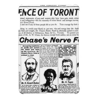 Toronto people vintage newspaper cover for the iPad mini