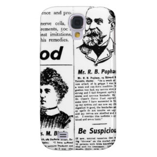 Toronto people vintage newspaper galaxy s4 cover