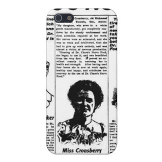 Toronto people vintage newspaper iPhone 5 cover