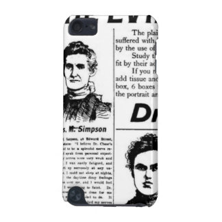 Toronto people vintage newspaper iPod touch 5G case
