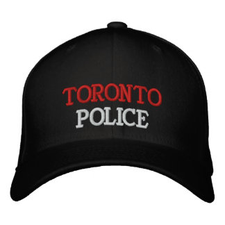 TORONTO, POLICE EMBROIDERED HAT