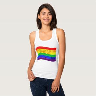 Toronto Pride Flag Wave Singlet
