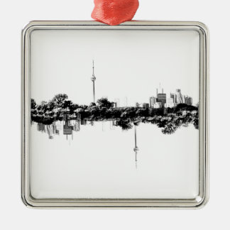 Toronto Reflection Metal Ornament
