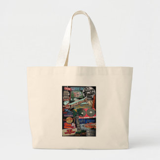 Toronto Signs Large Tote Bag