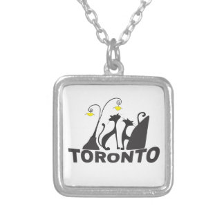 Toronto Silver Plated Necklace