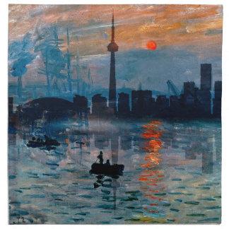 Toronto Skyline40 Napkin