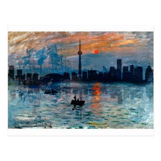 Toronto Skyline40 Postcard